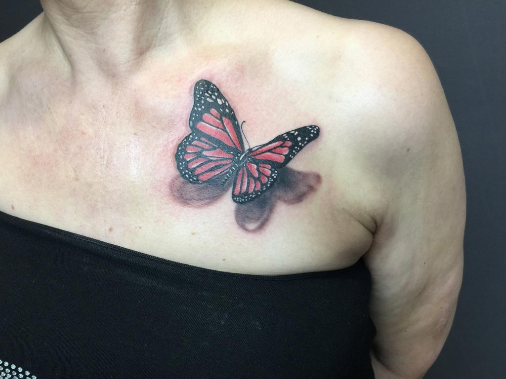 Zone-Tattoo-Dilo-Schmetterling-dreidimensional