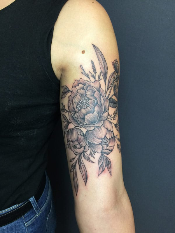 Zone-Tattoo-Dilo-Black and Grey -Rosen