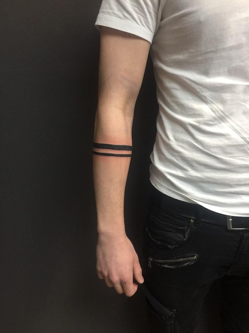 Zone-Tattoo-Dilo-Streifen