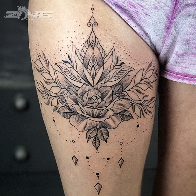 Zone -Tattoo -Dilo- Mandala