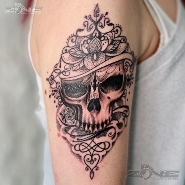 Zone - Tattoo -Piercing -Volly -Mandala -Totenkopf-Braunschweig1